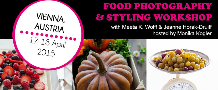 [Workshop] Food Styling and Photography